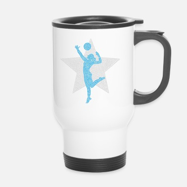 Volley Volley Girl (Perl Three Edition) - Taza termo
