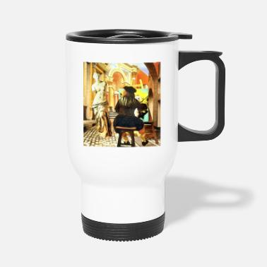 Venus De Milo Art 001 - Travel Mug