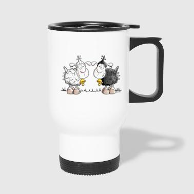 Deux Moutons  - Mug thermos
