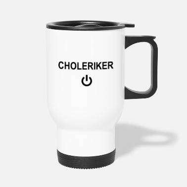 Standby Choleric on standby - Travel Mug