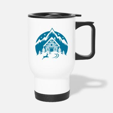 Ski Hut Ski Hut - Travel Mug