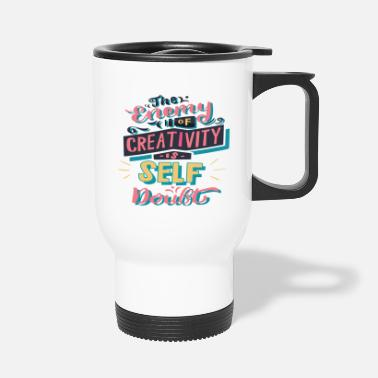 creativity - Travel Mug