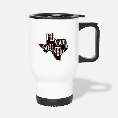 Countrymusic flyover country black - Travel Mug