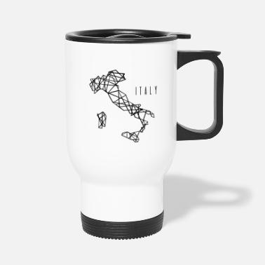 Home Country Italy Italy outline - Travel Mug