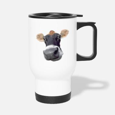 Dairy Cow Moo Cow dairy cow - Travel Mug