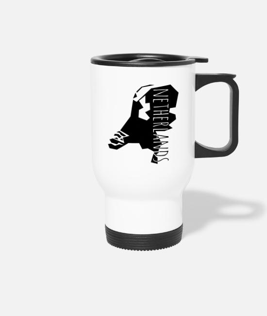Design Mugs & Drinkware - netherlands - Travel Mug white