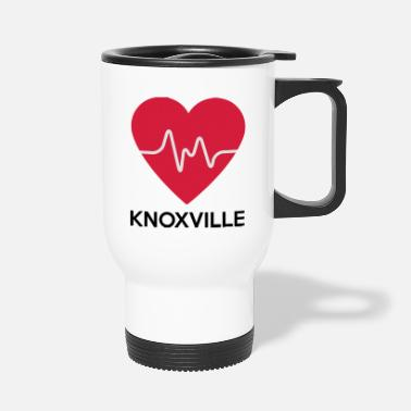 Knoxville serce Knoxville - Kubek termiczny