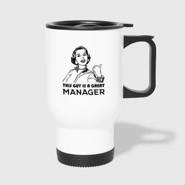 Manager. Geweldige Manager. - Thermo mok