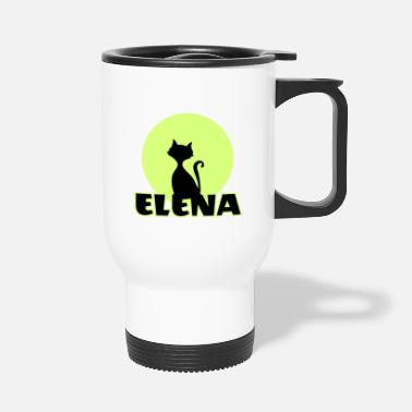 Name Day Elena Name day first name personal gift - Travel Mug