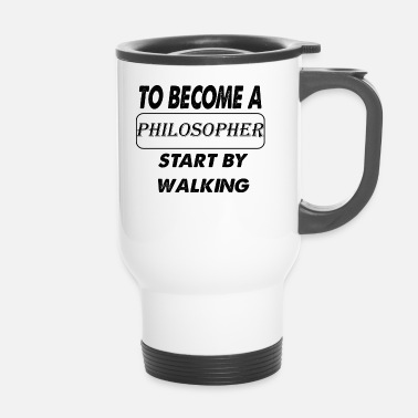 Philosophie devenir philosophe - Mug thermos