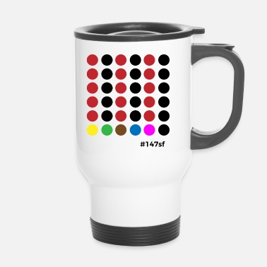 Snooker Snooker # 147sf - Travel Mug