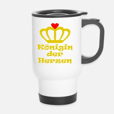 Queen Of Hearts Queen of the Hearts - Travel Mug