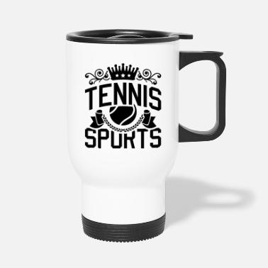 Court tennis_sports_de1 - Travel Mug