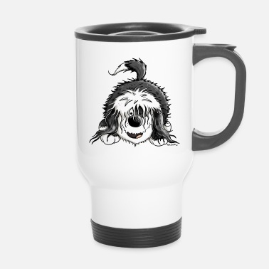 Tibetan Happy Tibetan Terrier - Travel Mug