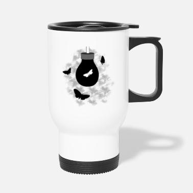 Moths moth - Travel Mug