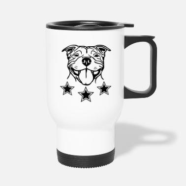 Stafford Happy ? www.dog-power.nl - Travel Mug