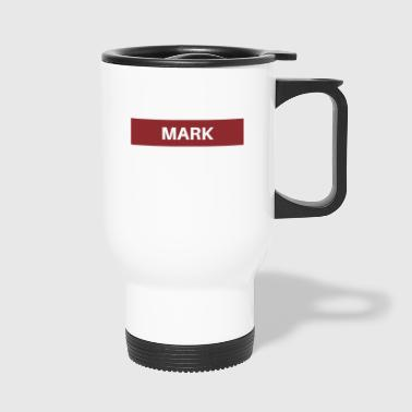 mark - Travel Mug