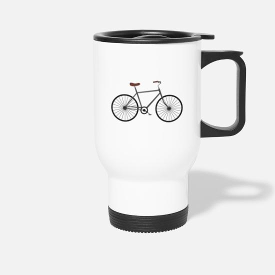 Bicycle Mugs & Drinkware - bicycle - Travel Mug white