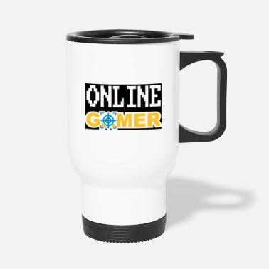 Online Online gamer - Travel Mug