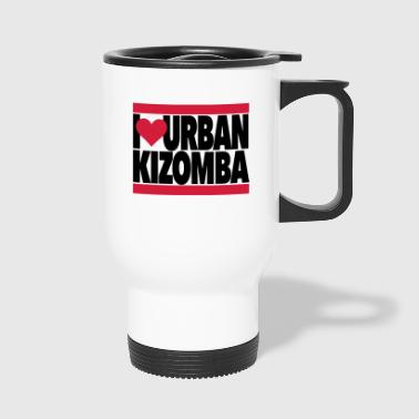 I Love Urban Kizomba - Kizomba Dance Fashion - Thermobecher