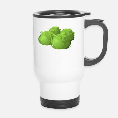 Cabbage cabbage - Travel Mug