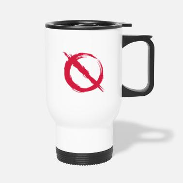 Prohibited Prohibition prohibited - Travel Mug