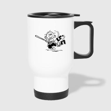 against Nazis - Travel Mug