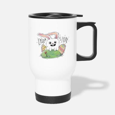 Easter Easter is here! Nice gift Cool for kids - Travel Mug