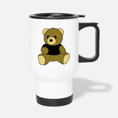 Sit sitting teddy - Travel Mug
