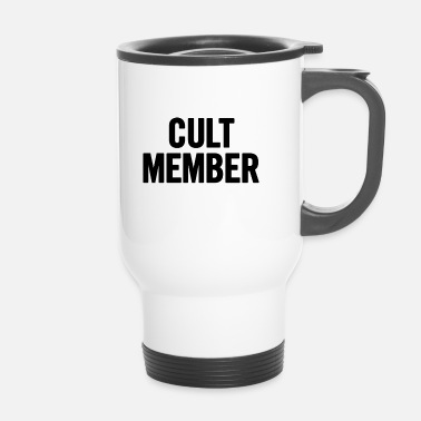 Cult Black Cult Lid - Thermo mok
