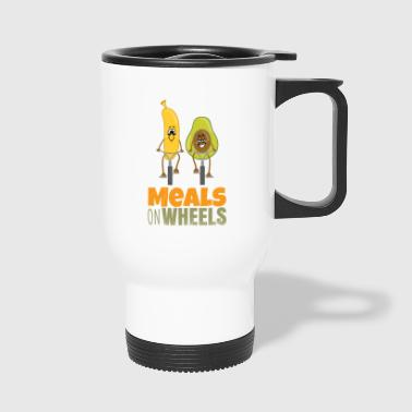 fruitonwheels - Meals on wheels - Travel Mug