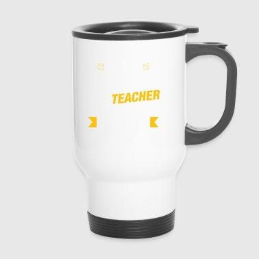 Gift for Math Teacher - Teaching Reality - Travel Mug