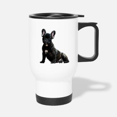 Dog Head dog, dog, dog head - Travel Mug