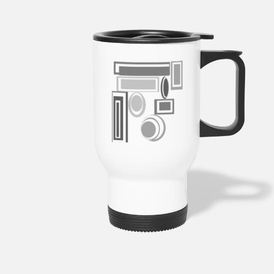 Modern Mugs & Drinkware - mystic - Travel Mug white