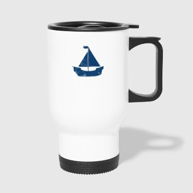 Voile - Voile - T-Shirt - Voilier - Voile - Mug thermos