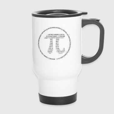 Pi - Pi Day - black - Travel Mug