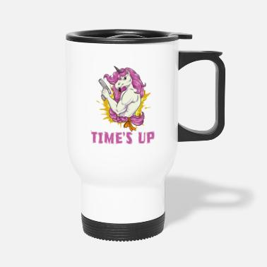 Unicorned Einhorn / Unicorn Time´s Up - Thermobecher