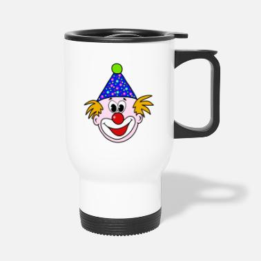 Clown clown - Travel Mug
