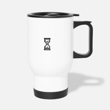 Hour Glass Hour Glass Cursor - Travel Mug