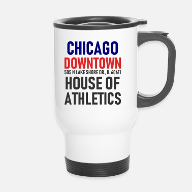 Chicago Chicago Downtown - House of Athletics - Illinois - Tazza termica