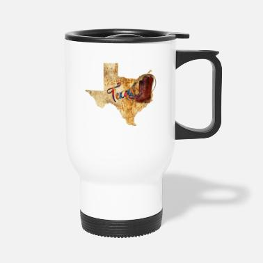 Country Texas Cowboy Map - Mug isotherme