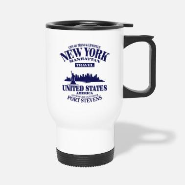 United States New York Skyline - United States - Mug isotherme