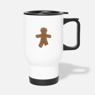 Man GINGERBREAD MAN - Travel Mug