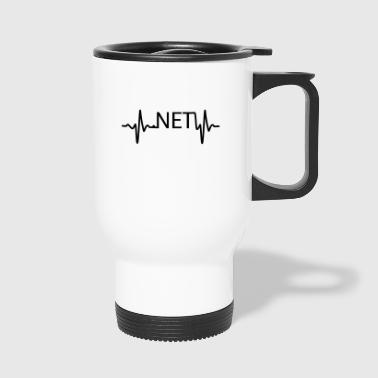 Heartbeat .NET - Travel Mug
