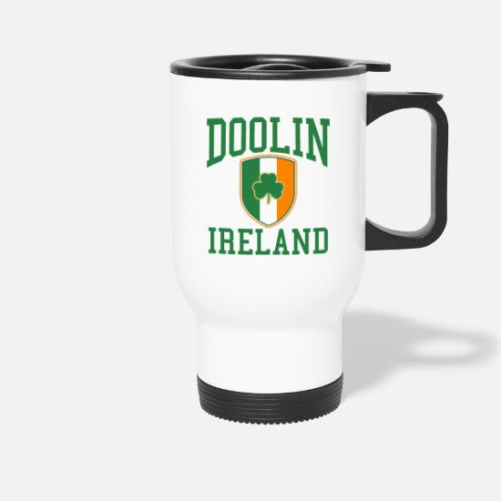 Dublin Mugs & Drinkware - Dublin - Travel Mug white