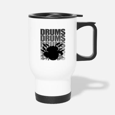 Drums Drums drums - Thermosbeker