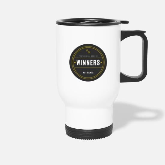 National Team Mugs & Drinkware - winner - Travel Mug white