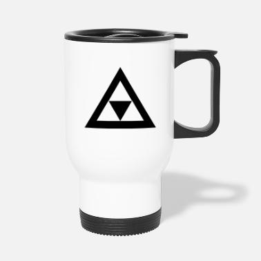 Triangle Triangle in the triangle - Travel Mug