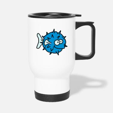 Blowfish Funny Blowfish - Travel Mug