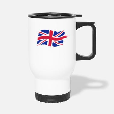 unionjackbrush - Travel Mug